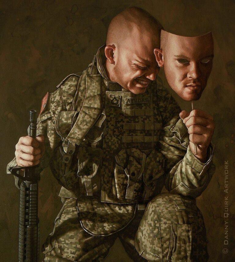 (De)Facing PTSD